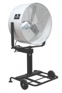 "36"" Misting Fan w/ Pump and Ring"